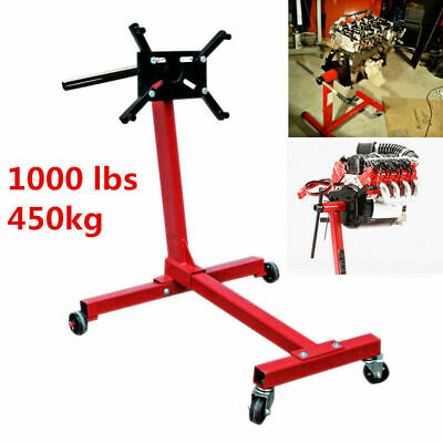 Heavy Duty Engine Support Jack Stand Swivel Transmission Gearbox 1000 lbs 450kg