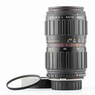 angenieux zoom f.Nikon 2x35 2,5-3.3/35-70mm Lens made in France  SHP 62150