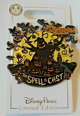 Disneyland Pin - Oogie Boogie Bash - The Spell is Cast - LE 3000