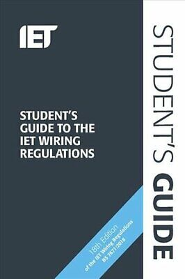 Student's Guide to the IET Wiring Regulations by Steven Devine 9781785614743