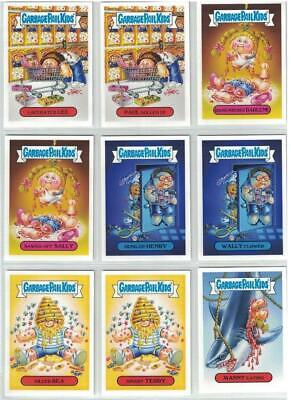 Garbage Pail Kids Revenge Of Oh The Horror-Ible Horror Victims Set 10 Gpk Blas