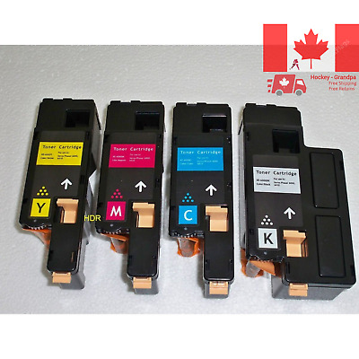 4PK Toner Cartridges Combo set compatible for Xerox 6020 6022 WorkCentre 6025...