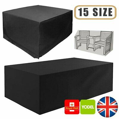 Waterproof Patio Garden Furniture Cover Outdoor Large Rattan Table ALL SIZE