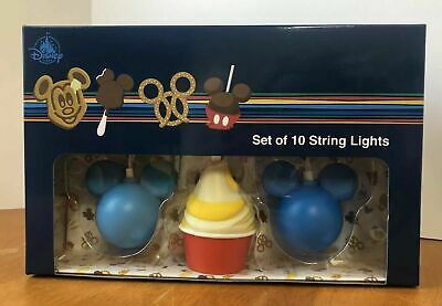 Disney Parks Snacks Treats Foods Dole Whip Mickey String Of Lights New!