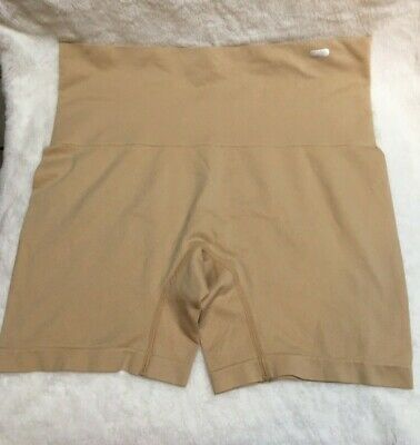 JKY by Jockey Muffin Tamer Slimming shorts Size -LARGE Beige or Nude
