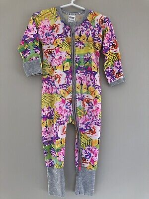 Bonds Paradise Island Zippy Wondersuit Boys Girls Unisex BNWT Size 0 6-12 Months