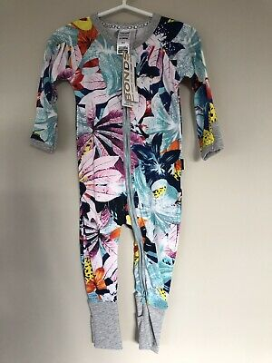 Bonds Super Tropic Zippy Wondersuit Boys Girls Unisex BNWT Size 0 6-12 Months