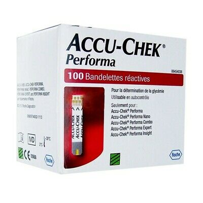 ACCU-CHEK Performa 100 Test Strips Exp 2020/09/30 Free Ship