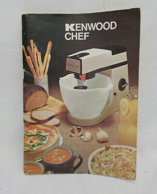 Kenwood Chef Instructions & Recipe Book For A901 Mixer