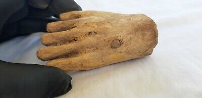 Ancient Egyptian Woodden part of Foot c.664-332 BC.