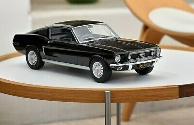 FORD Mustang MKI Fastback Coupe 1968 schwarz black US Muscle Car NOREV NEU 1:12
