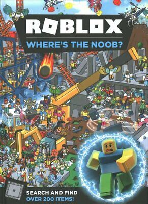 Roblox Where's the Noob? Search and Find Book 9781405294638 | Brand New