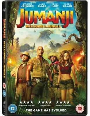 Jumanji: Welcome To The Jungle  (2018) DWAYNE JOHNSONDVD
