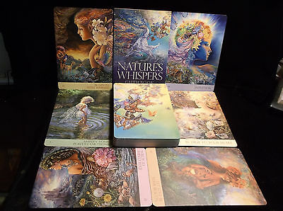 Sealed New ~ Beautiful ~ Nature's Whispers Oracle Cards Flowers Trees Divination