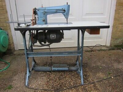 Vtg Singer 165K5 Industrial Willcox & Gibbs Sewing Machine 60s 70s Cast iron