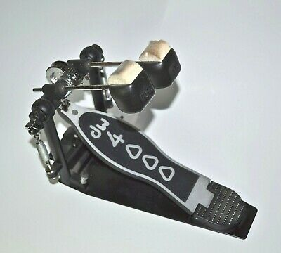 Used DW 4000 Right Side Double Bass Drum Foot Pedal Free Shipping