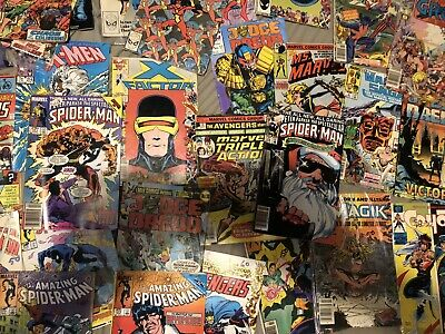 Lot of 30 Random Selection 70's 80's Comics