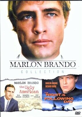MARLON BRANDO COLLECTION New DVD The Ugly American + Night of the Following Day
