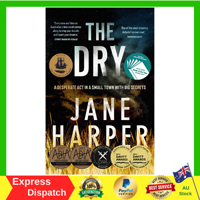 The Dry A Desperate Act In A Small Town By Jane Harper Paperback Book NEW
