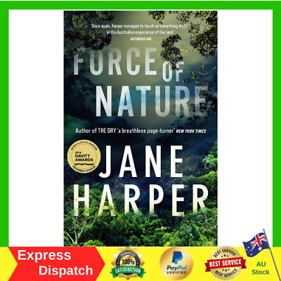 Force of Nature by Jane Harper Paperback Book 2018 NEW Fast And Free Shipping