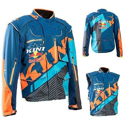 Kini Red Bull Competition Jacke Enduro Jacket blau orange