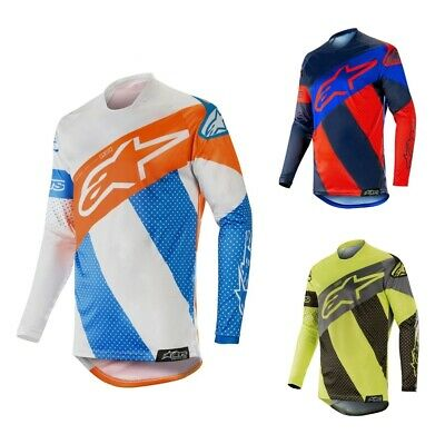 Alpinestars RACER TECH ATOMIC Jersey MX Offroad Enduro Motocross Shirt