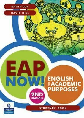 NEW EAP Now! English for Academic Purposes Students' Book By Kathy Cox Paperback