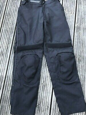 Alpinestars Mens Motorcycle Trousers XL Removable Knee Protectors
