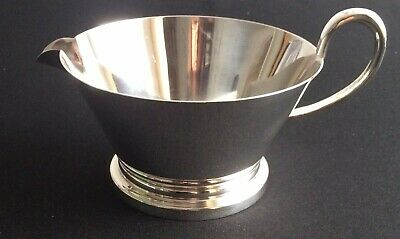 Stylish Silver Plated Gravy/Sauce Boat/Jug - Good Condition