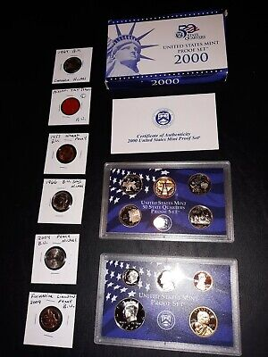 coin LOT collection US MINT SETS PROOF vintage tax token SMS NKL NO JUNK DRAWER