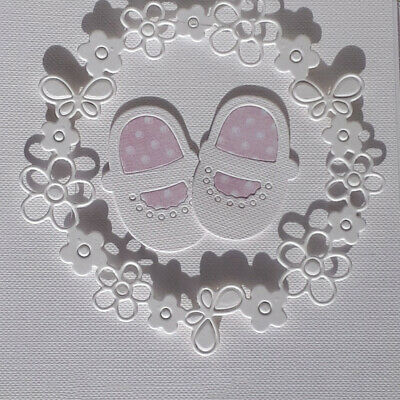 Baby Shoes Metal Steel Cutting Dies Scrapbook Decor Paper Card Embossing Craft