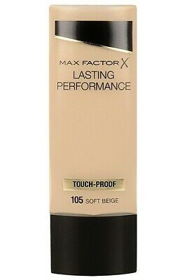 Max Factor Lasting Performance Touch-Proof  Liquid Foundation Fair/Soft Beige