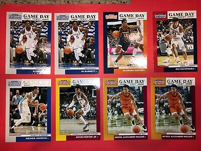 2019 Panini Contenders Draft Picks Basketball Cards Game Day Ticket You Choose