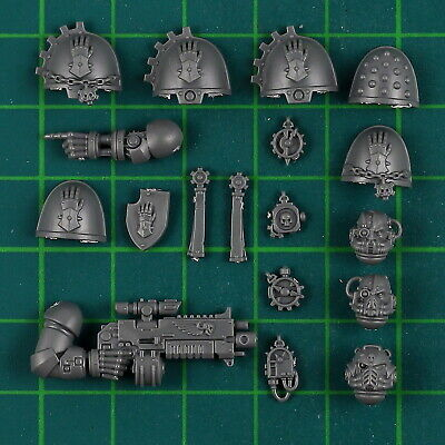 Iron Hands Primaris Upgrades Bitz Bits Space Marines Warhammer 40,000