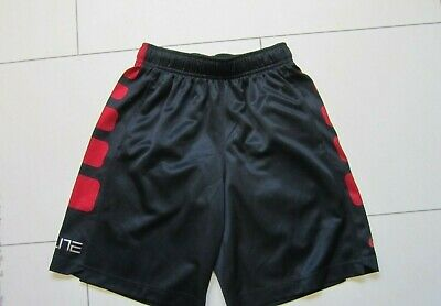 Nike Elite ,Boys Shorts,Black & Red,Age,6-8 Years,Worn Once