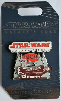 Disney Parks Star Wars Galaxy's Edge Millennium Flacon Limited Release Pin NEW