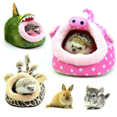 Pet Hammock Sleeping Bed Rabbit Guinea Pig Hamster Mice Soft House Nest Pad