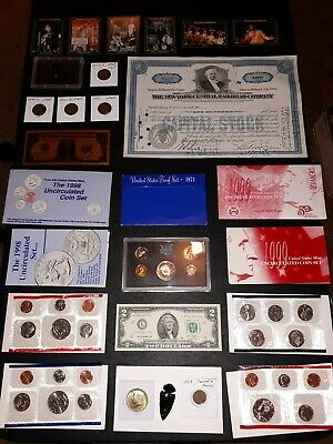 COIN LOT BIG collection MINT SETS 40% SILVER half $2 PROOF canada NO JUNK DRAWER