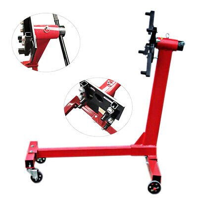 450KG Swivel Transmission Gearbox Engine Support Stand Mount 1000 lbs Heavy Duty