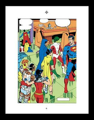 George Perez New Teen Titans #24 Rare Production Art Pg 2
