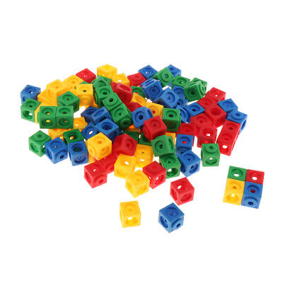 Learning Resources Mathlink Cubes 100pcs Set Early Math Educational Activity