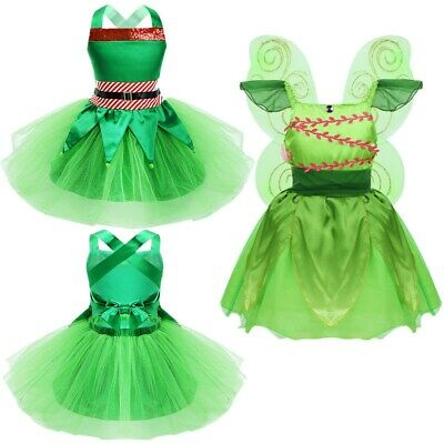 Kids Baby Girls Fairy Costume Mesh Tutu Dress Cosplay Fancy Dress Cosplay Outfit
