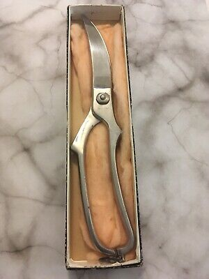 Vintage Quality Stainless Steel Rostfrei Kitchen Chefs Poultry Shears Scissors