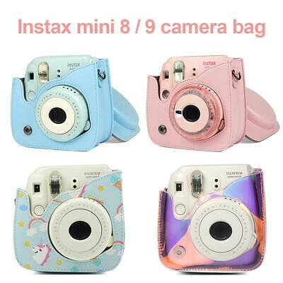 Fuji Fujifilm Instax Mini 9/8 Camera Bag Camera Protector Cover Case With Strap