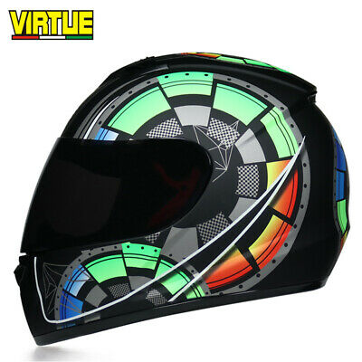 Cool Motorcycle Helmet Professional Racing Full Face DOT Safety Motocross Helmet