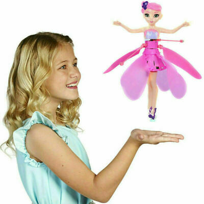 UK Flying Fairy Princess Dolls Magic Infrared Control Toy **UK FAST POST**