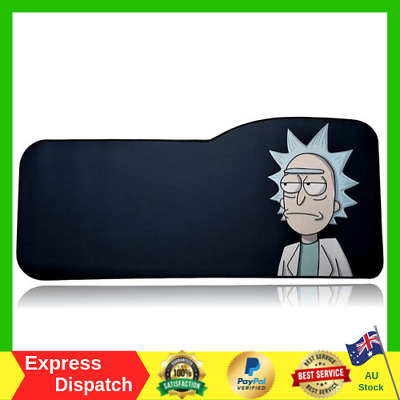 Rick and Morty Anti Slip Rubber Stitched Edges Gaming Mouse Pad Extended Size