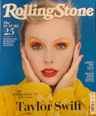 Rolling Stone Magazine - October 2019  -  Taylor Swift  -  No Mailing Label