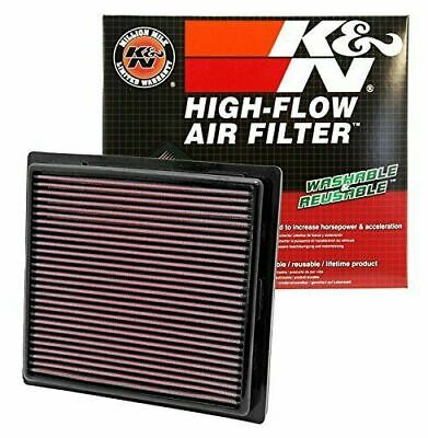 33-2457 K&N Air Filter High Flow Element Jeep Grand Cherokee Srt 6.4 V8 Durango