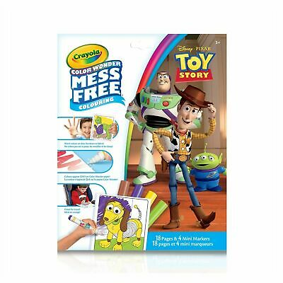 Crayola Toy Story 4 Mess Free Colour Wonder BRAND NEW